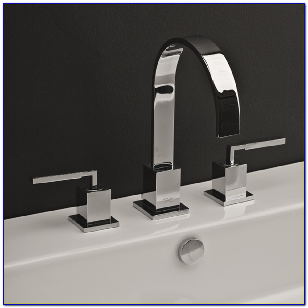 3 Hole Waterfall Bathroom Faucet
