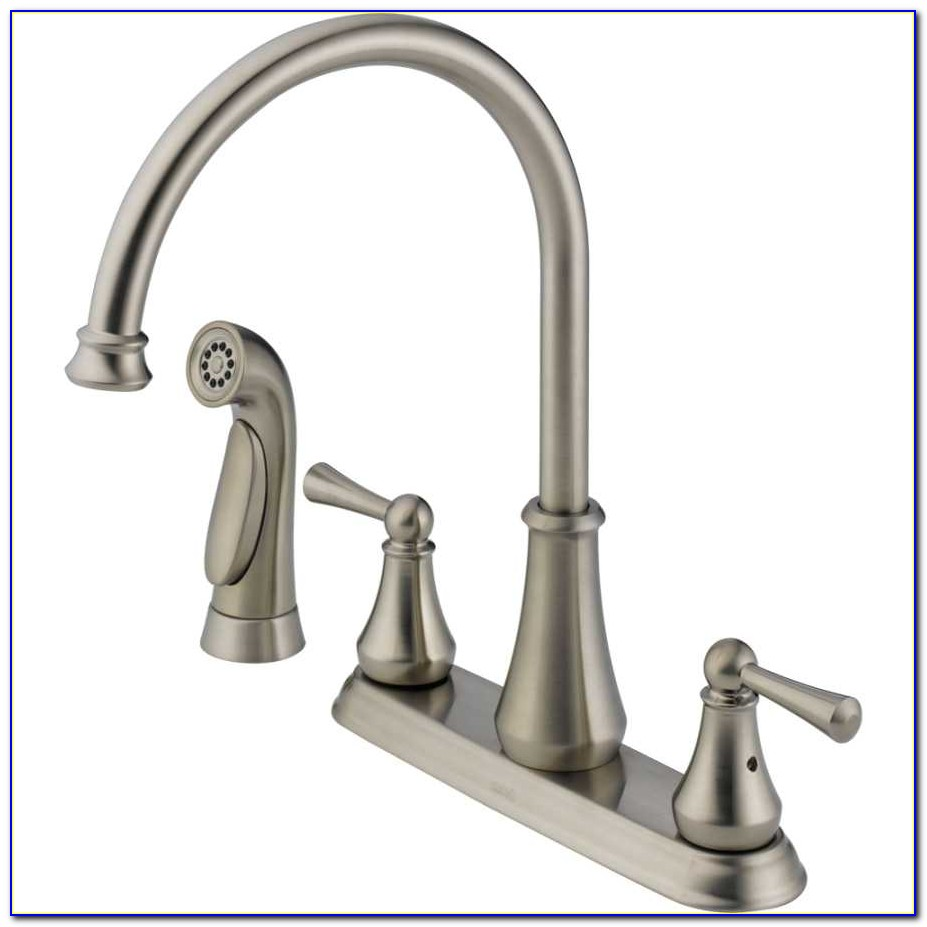 4 Hole Kitchen Faucet With Soap Dispenser