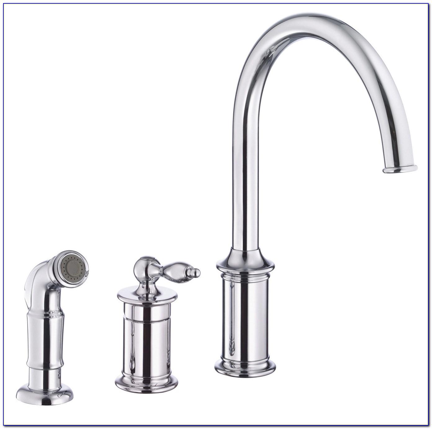 4 Piece Kitchen Faucet Set