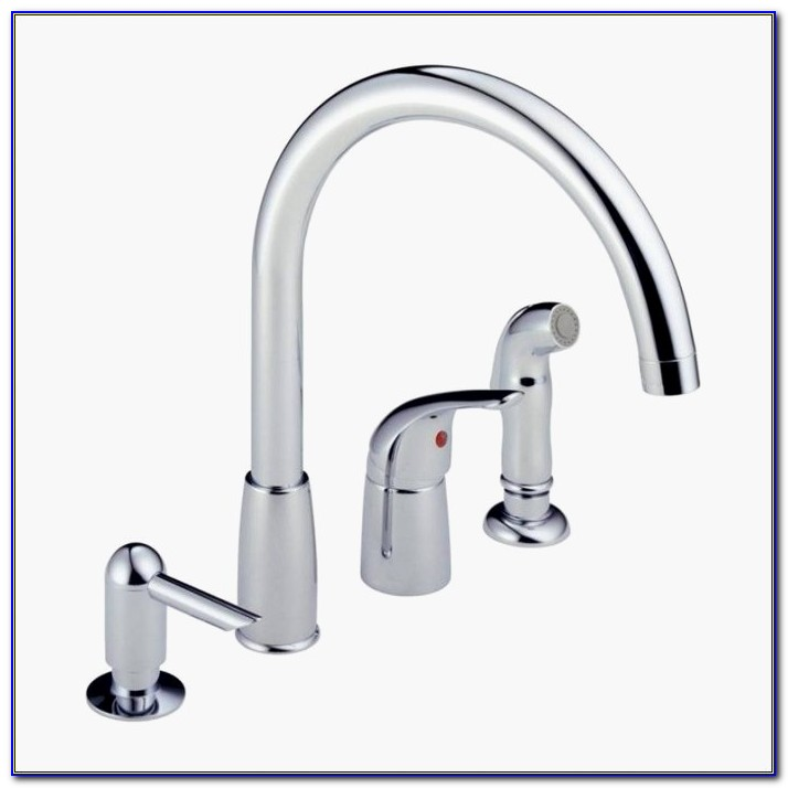 4 Piece Kitchen Faucet Beautiful Kitchen Delta Kitchen Faucets Lowes 4 Hole Kitchen Faucet Lowes