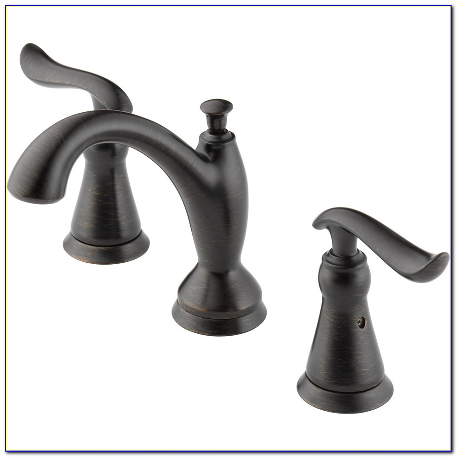 8 Widespread Bronze Bathroom Faucets