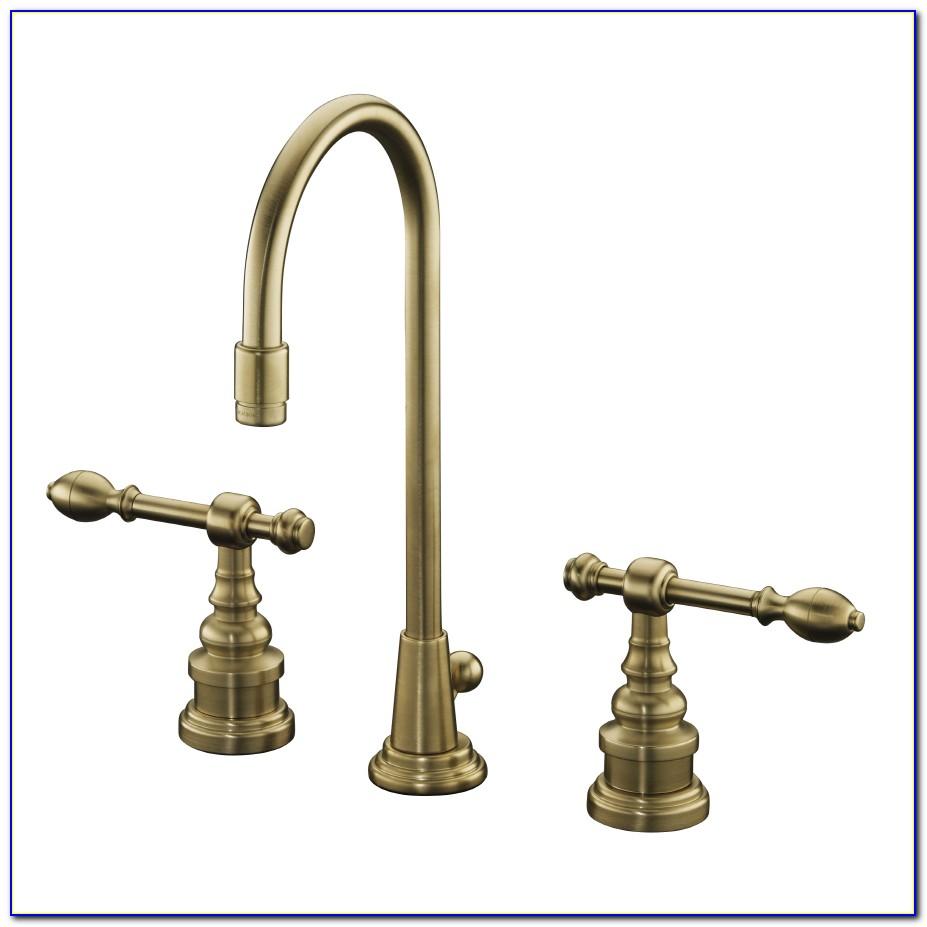 Antique Brass Bathroom Faucet Moen