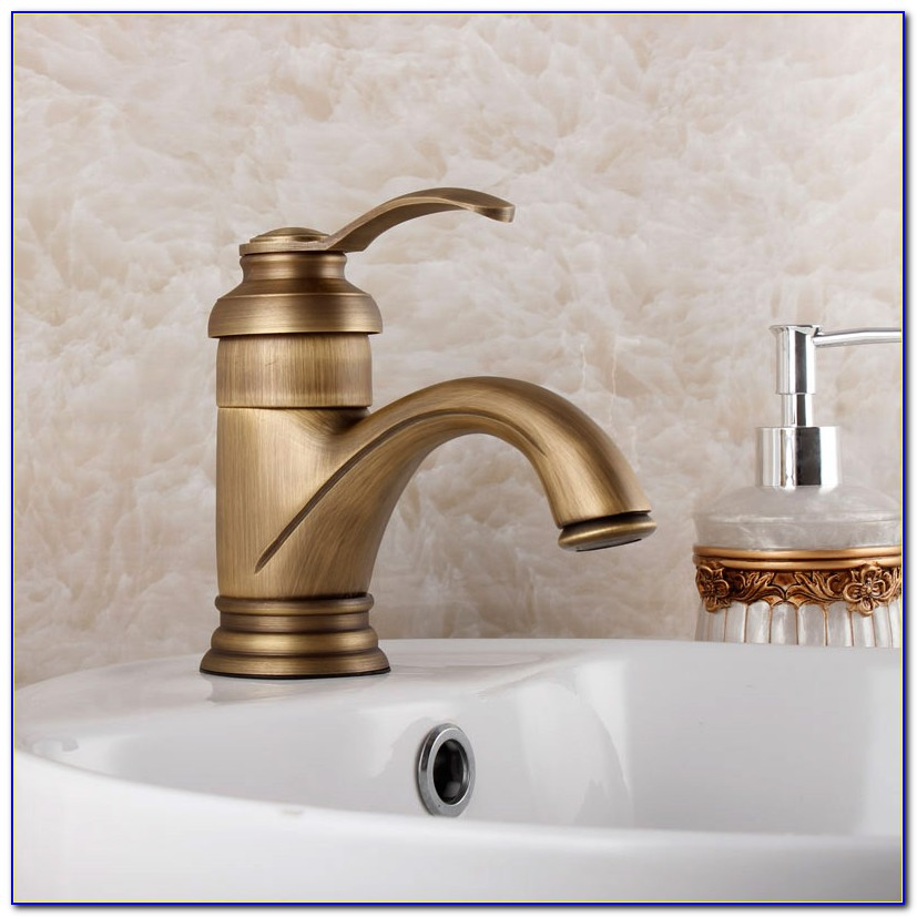 Antique Brass Bathroom Faucets Amazon