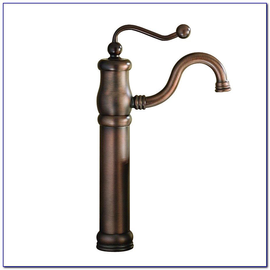 Antique Bronze Single Hole Bathroom Faucet