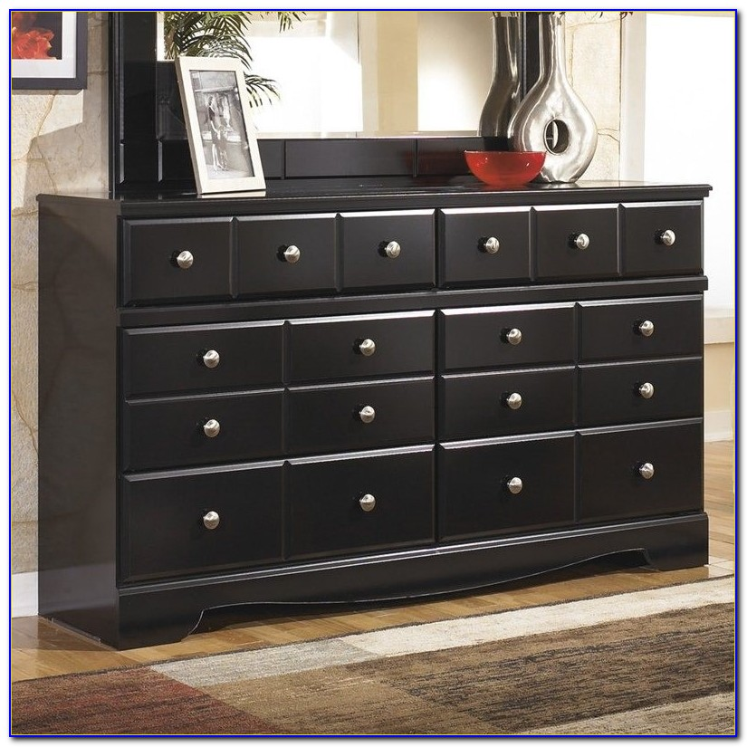 Ashley Furniture Black Media Chest