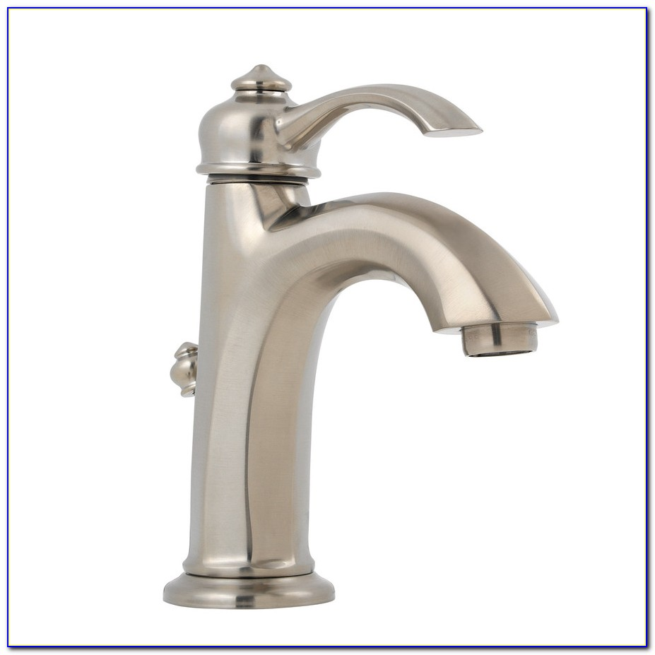 Bathroom Faucet Single Hole Brushed Nickel
