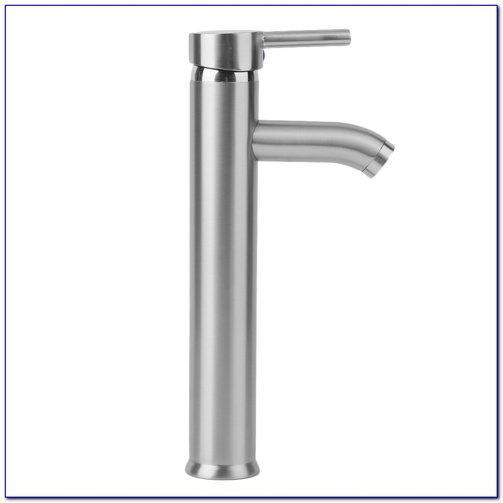 Bathroom Vessel Faucets Brushed Nickel