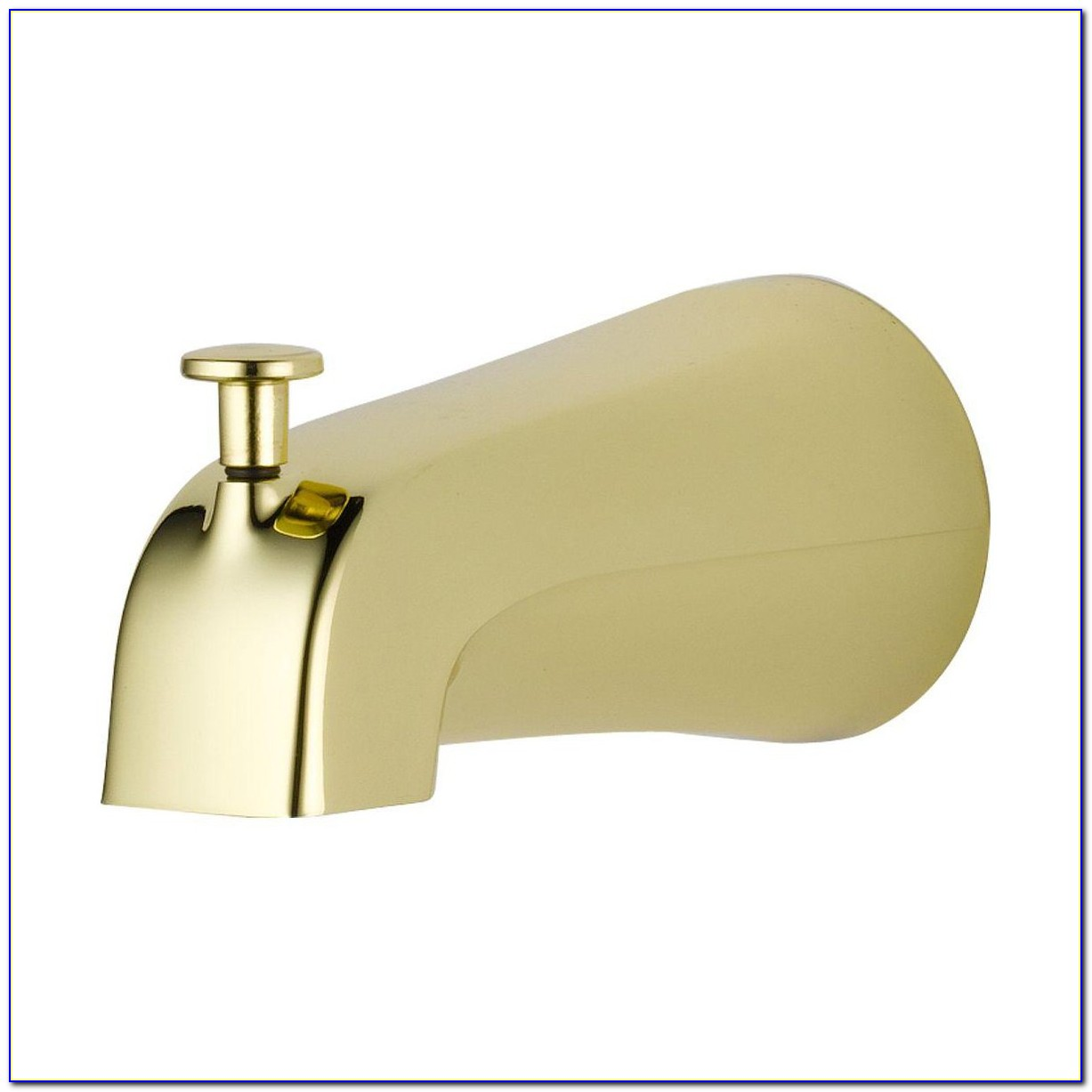 Bathtub Faucet With Handheld Diverter