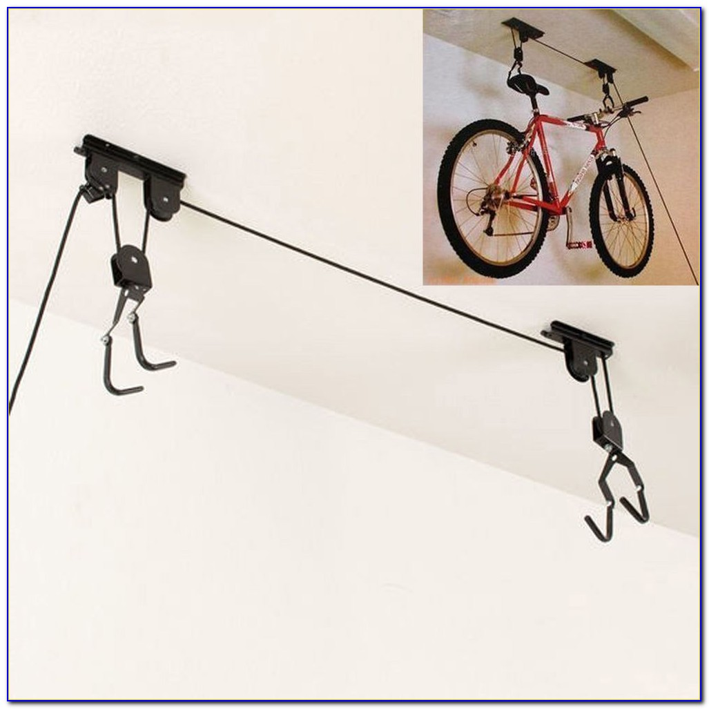 Bicycle Hangers For Garage Ceiling