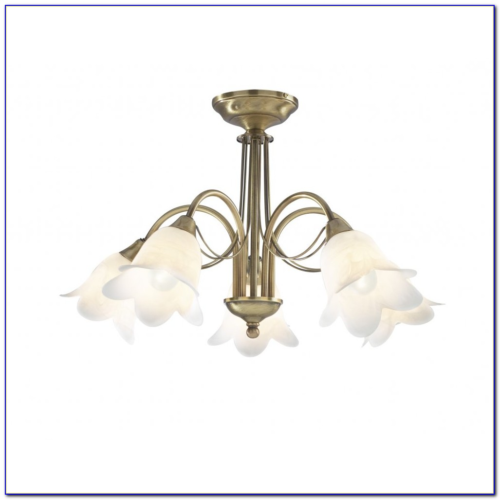 Brass Flush Ceiling Light Fittings