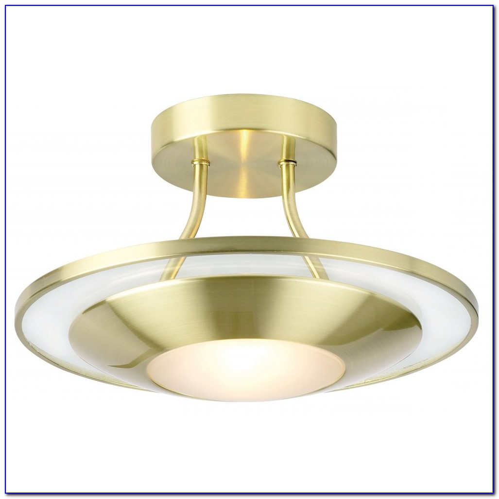 Brass Flush Ceiling Lights