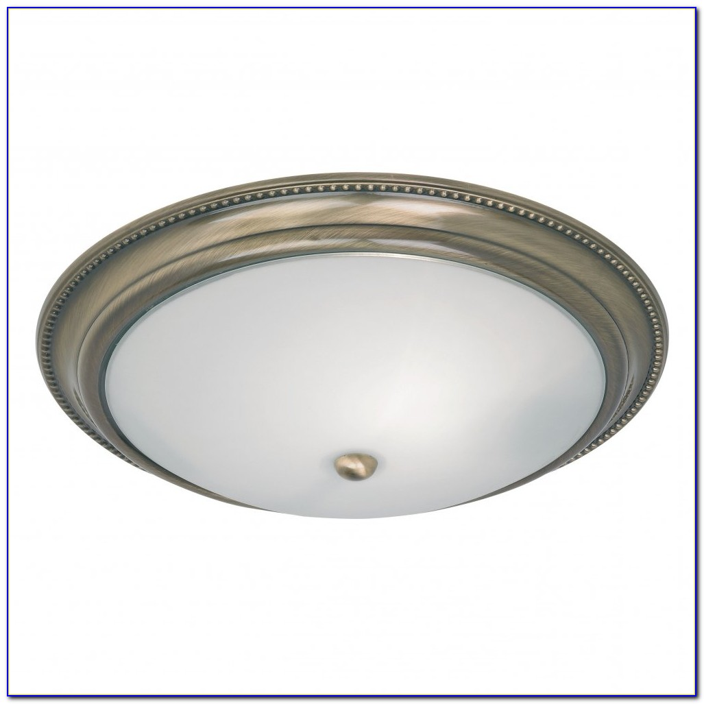 Brass Flush Mount Ceiling Lights