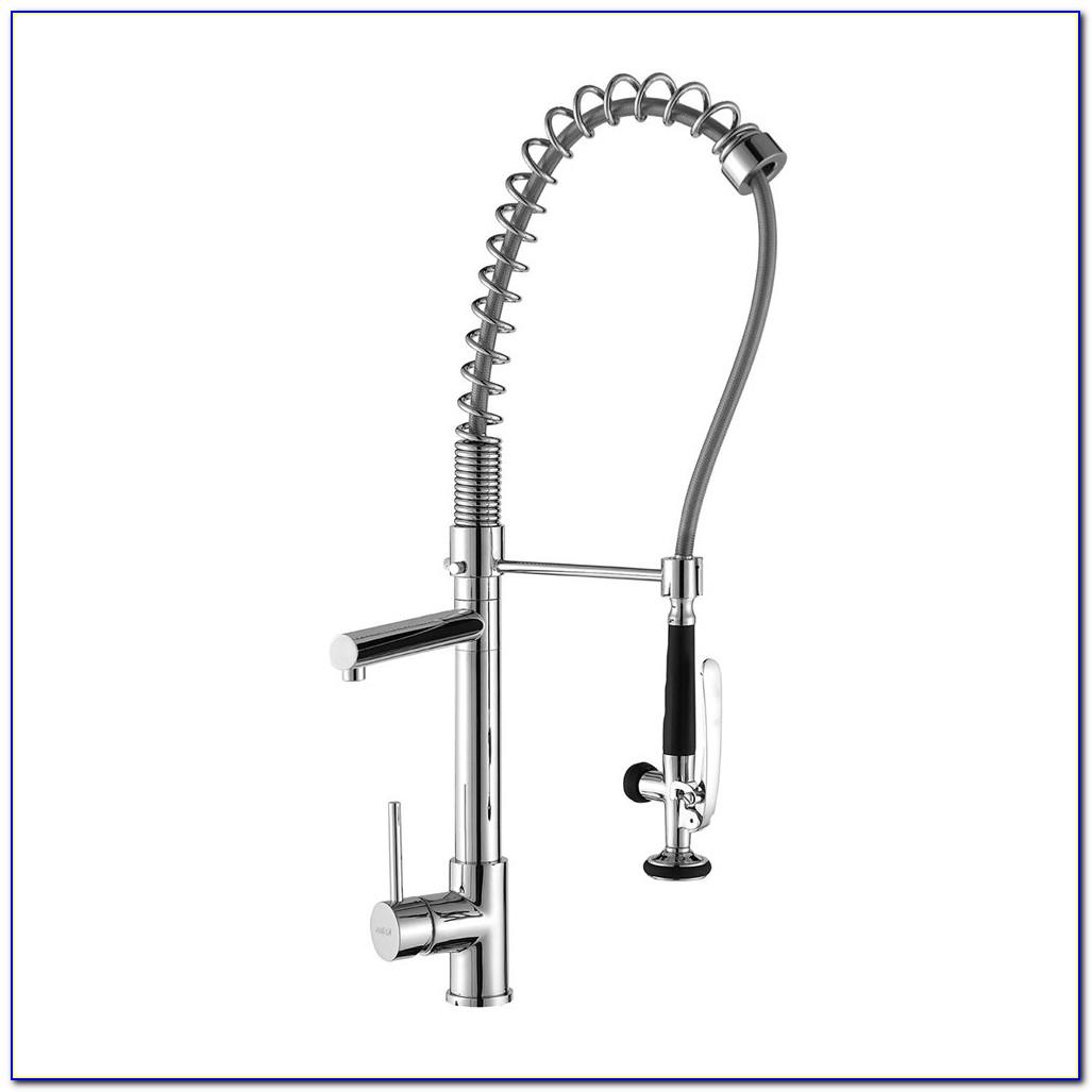 Bronze Pre Rinse Kitchen Faucet