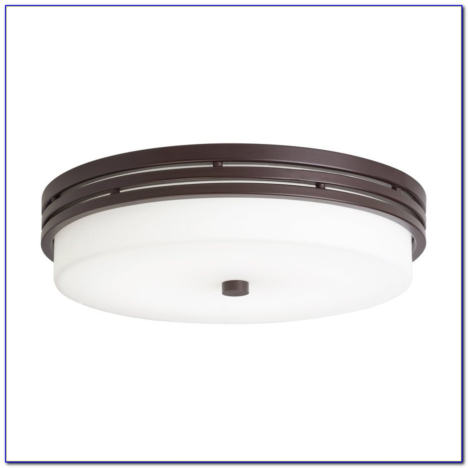 Bronze Semi Flush Mount Ceiling Light