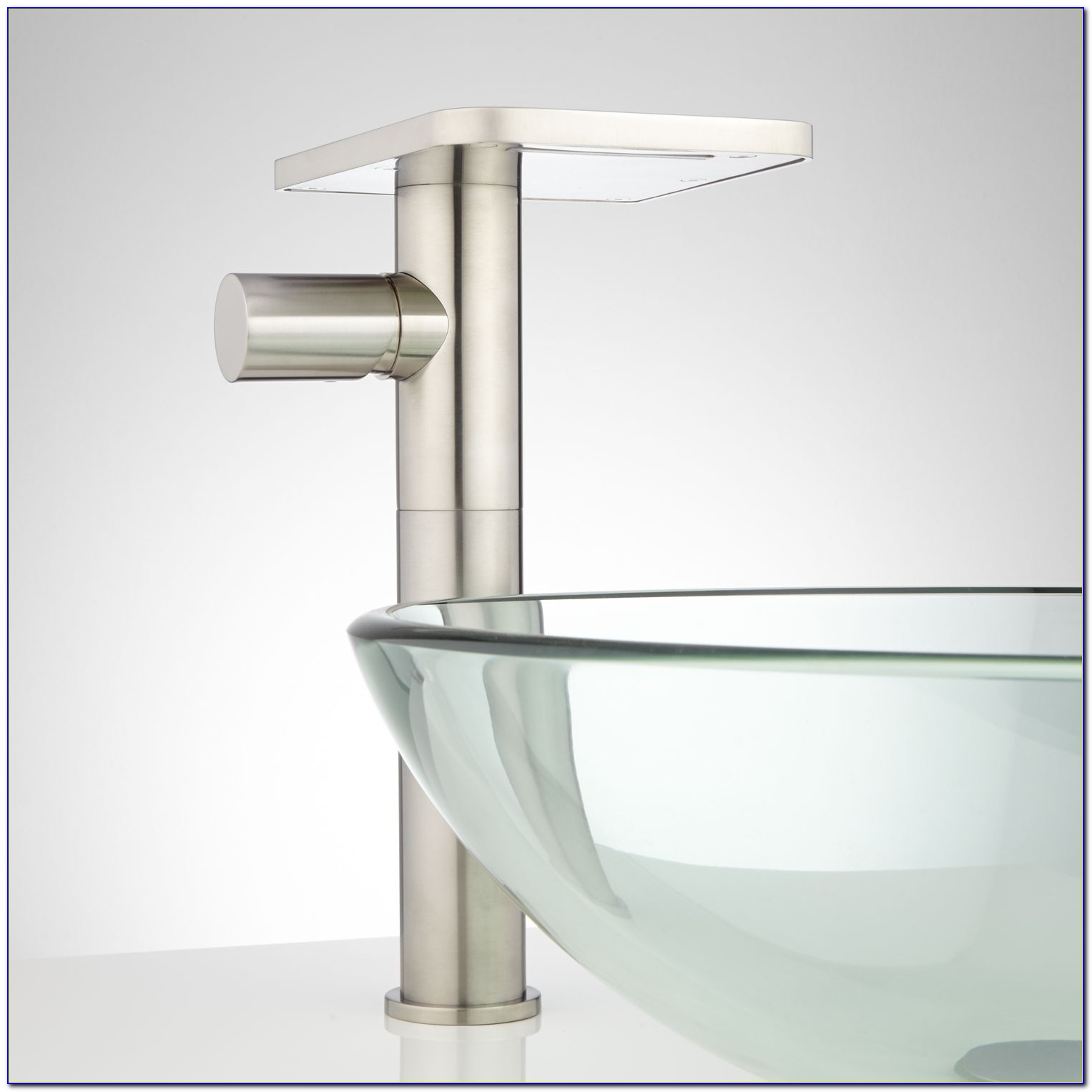 Bronze Waterfall Faucet For Vessel Sink