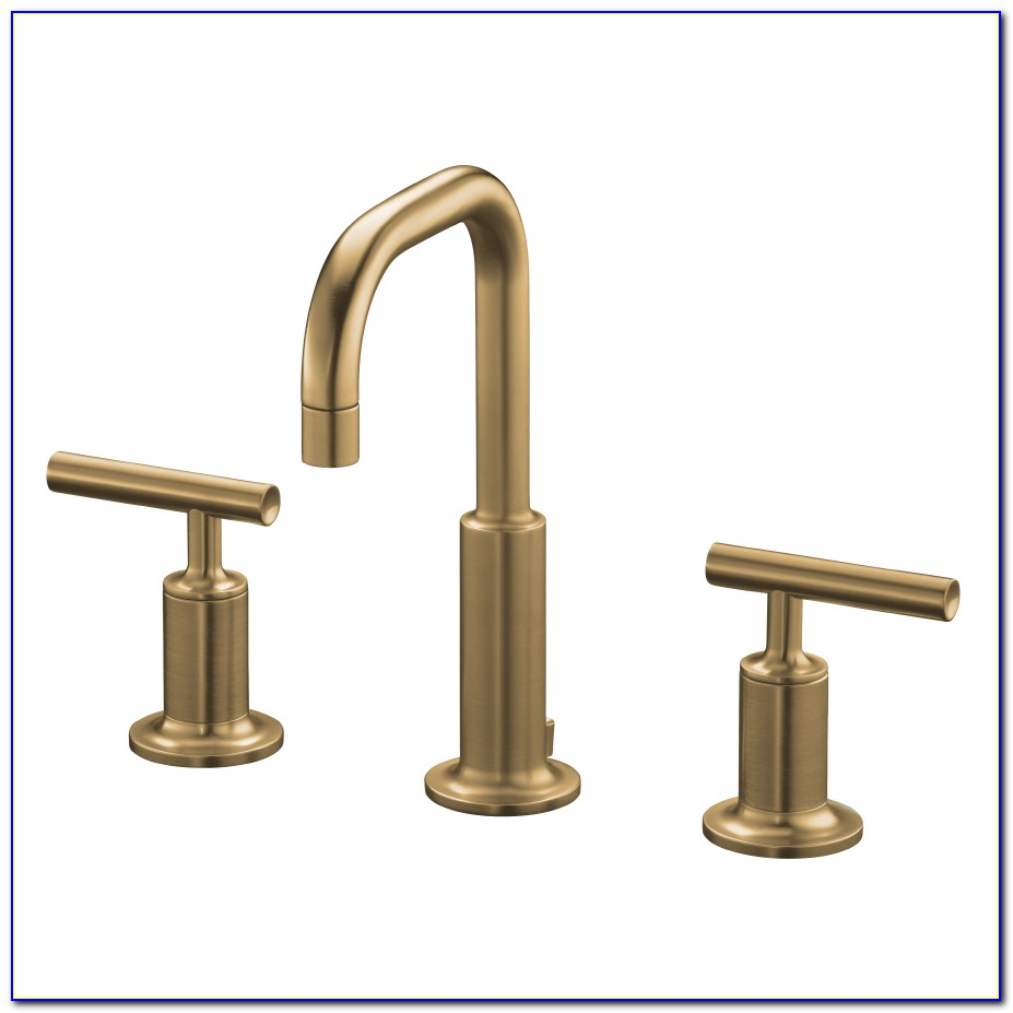 Brushed Brass Bathroom Faucets