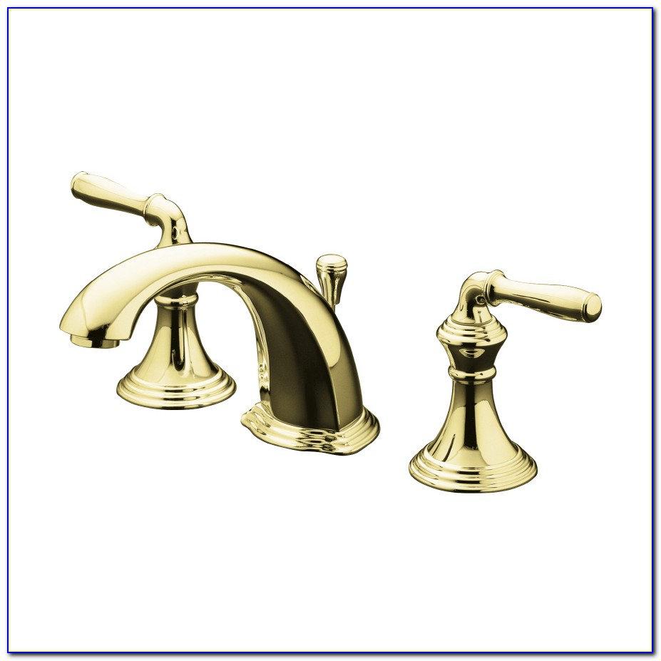 Brushed Brass Bathroom Sink Faucets