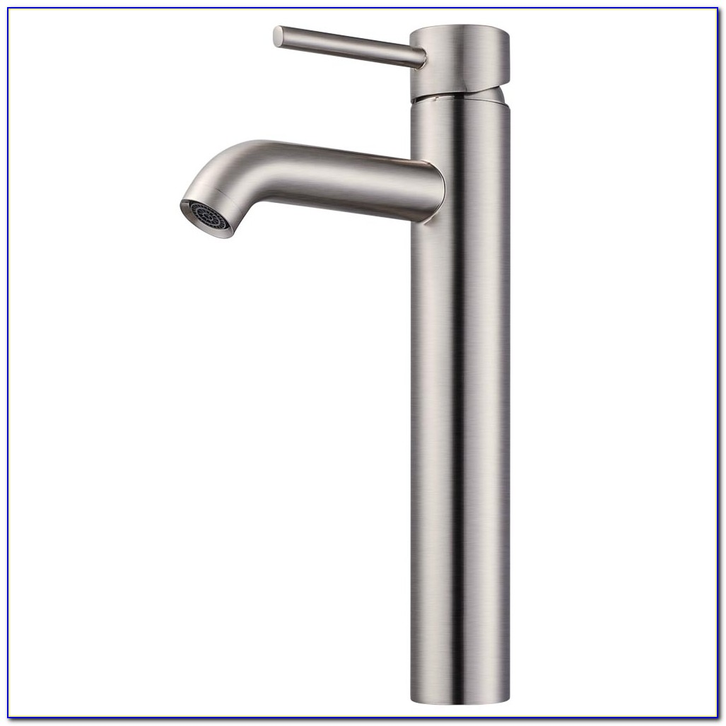 Brushed Chrome Bath Faucets