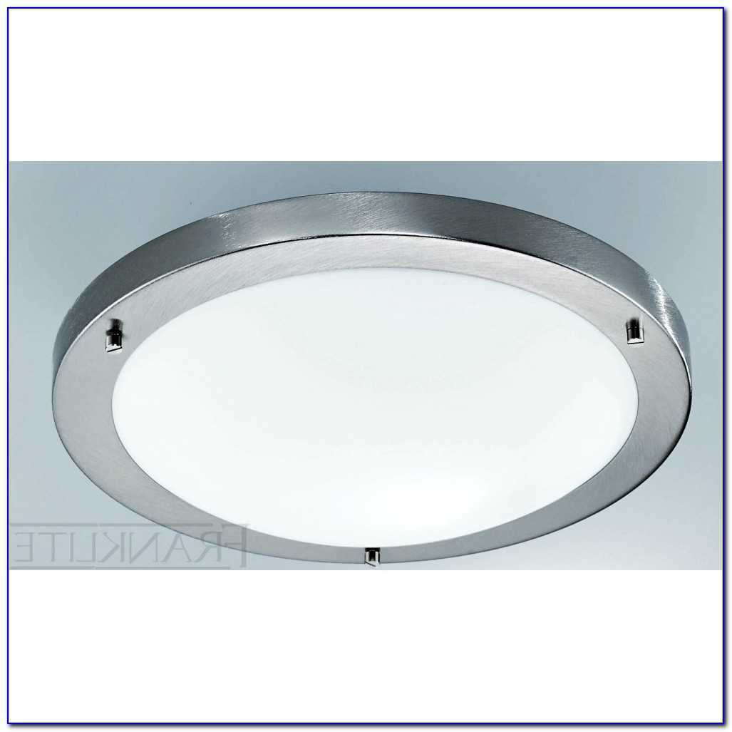 Brushed Nickel Ceiling Light Fixture