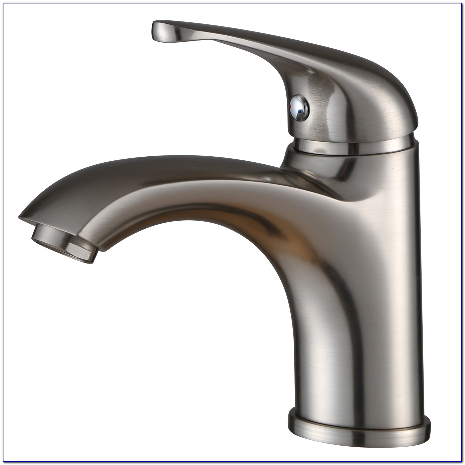 Brushed Nickel Single Hole Bath Faucet