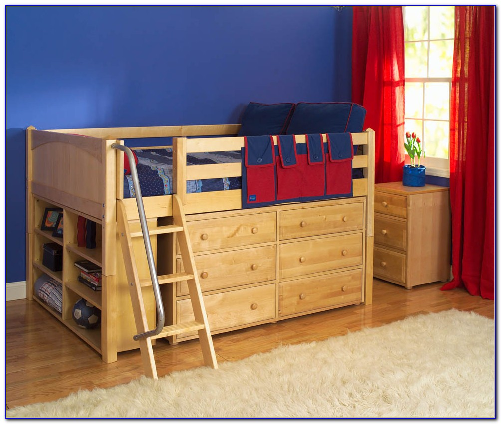 Bunk Beds With Built In Dresser And Desk