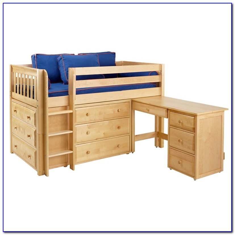 Bunk Beds With Dresser Drawers