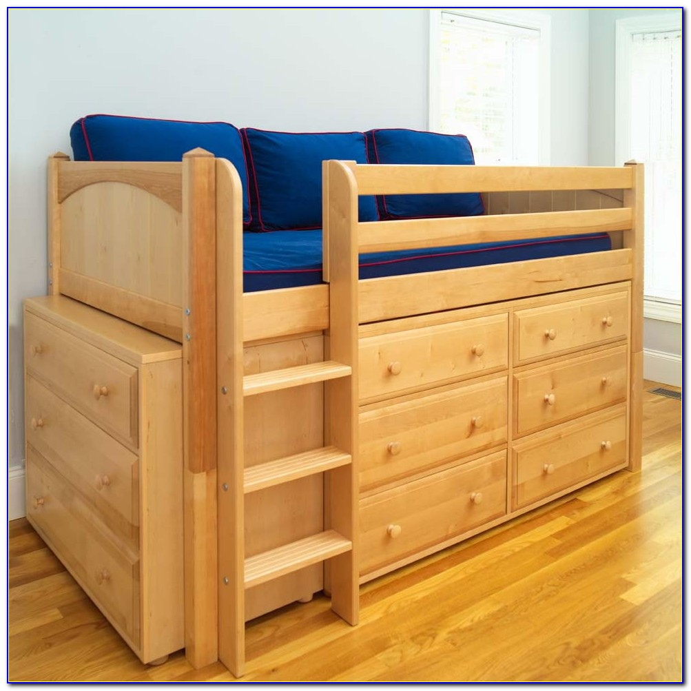 Bunk Beds With Dresser Underneath