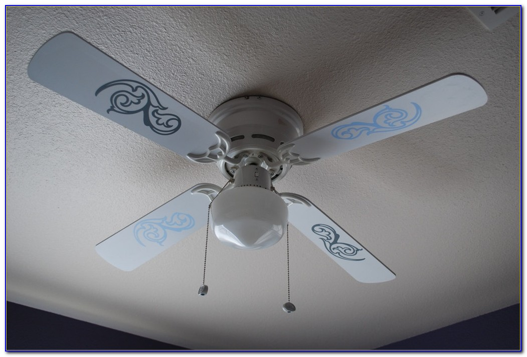 Ceiling Fan Blade Covers White