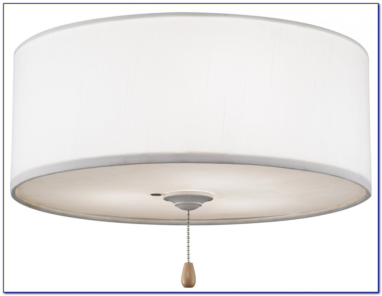 Ceiling Fan With Lamp Shade