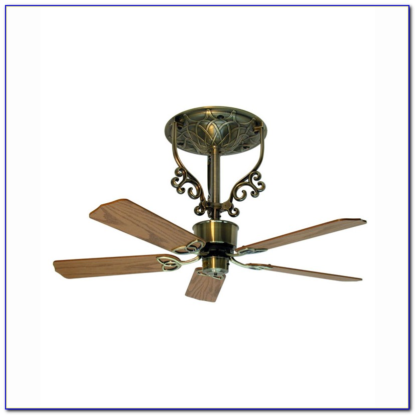 Ceiling Fan With Short Blades