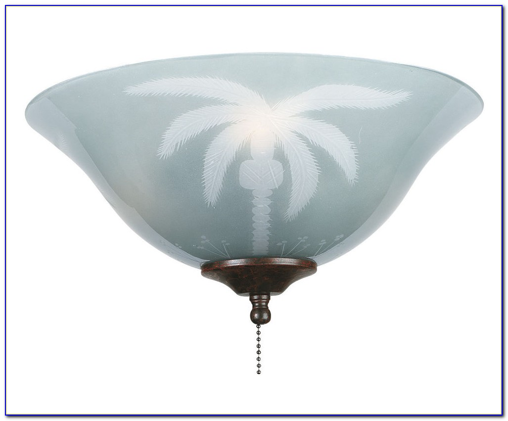 Ceiling Fan With Tiffany Lamp
