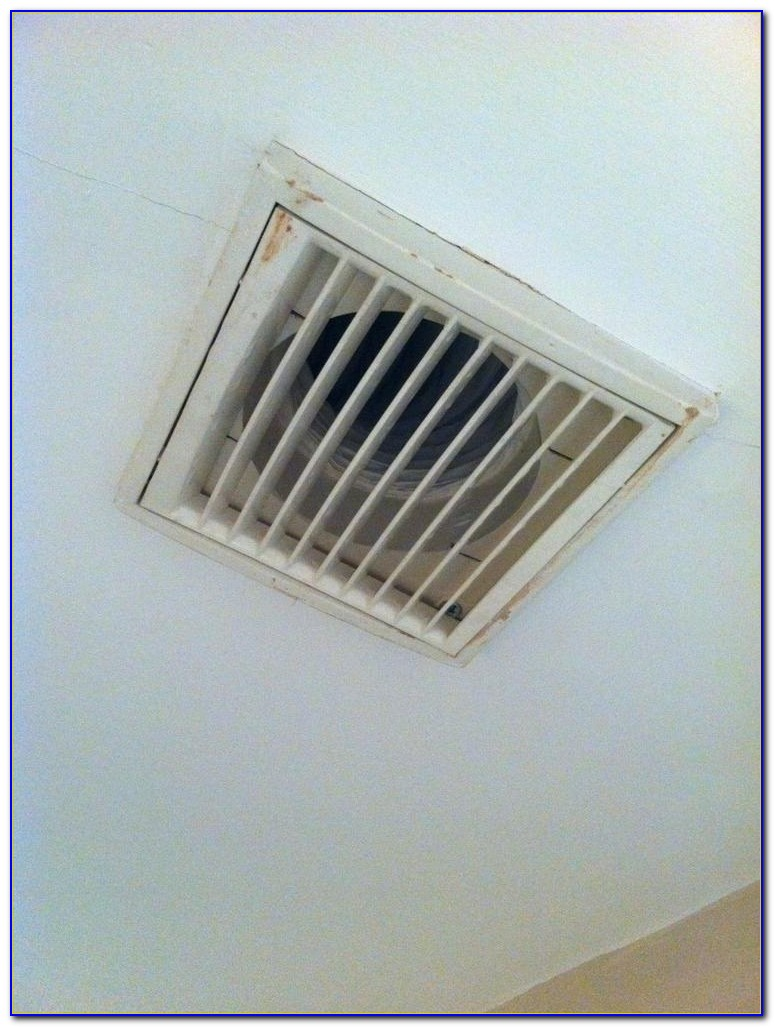 Ceiling Mount Bathroom Exhaust Fan With Light