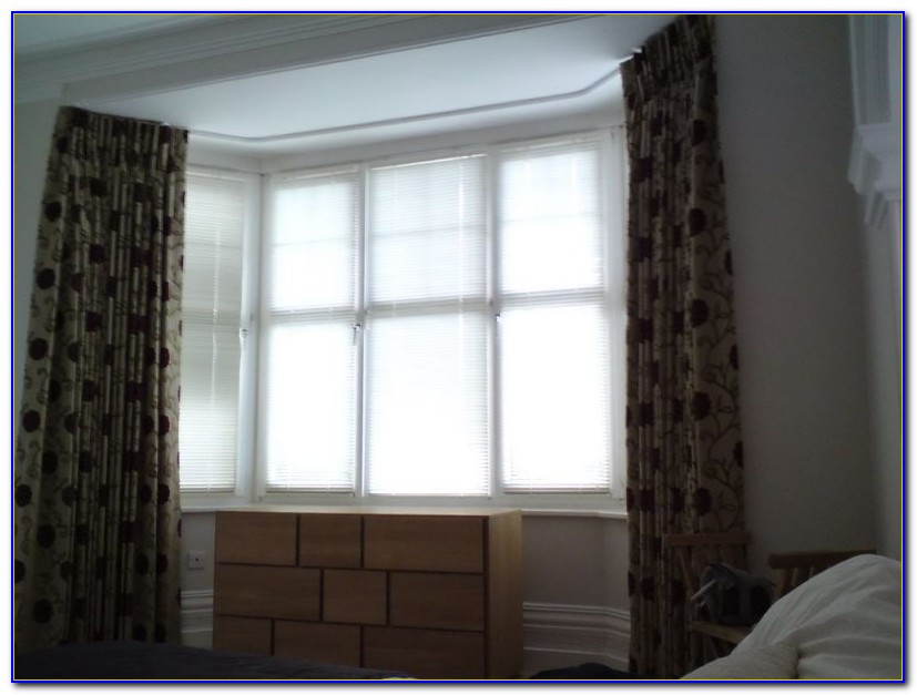Ceiling Mounted Curtain Rails For Bay Windows