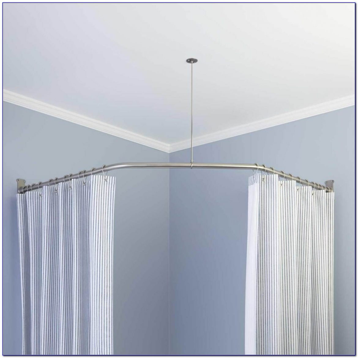 Ceiling Mounted Drapery Rods