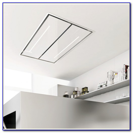 Ceiling Mounted Recirculating Cooker Hood