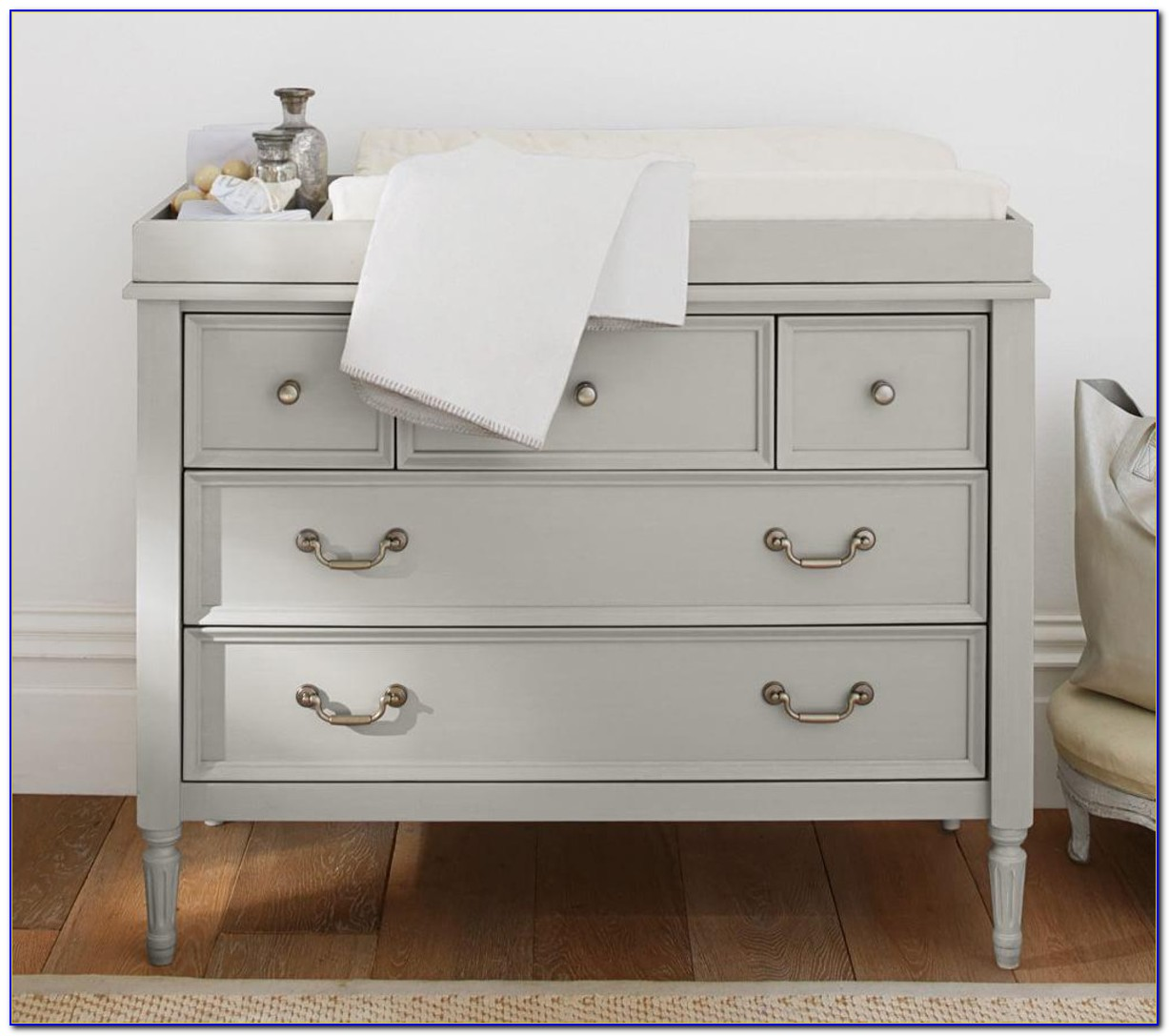 Changing Table Dresser Topper White