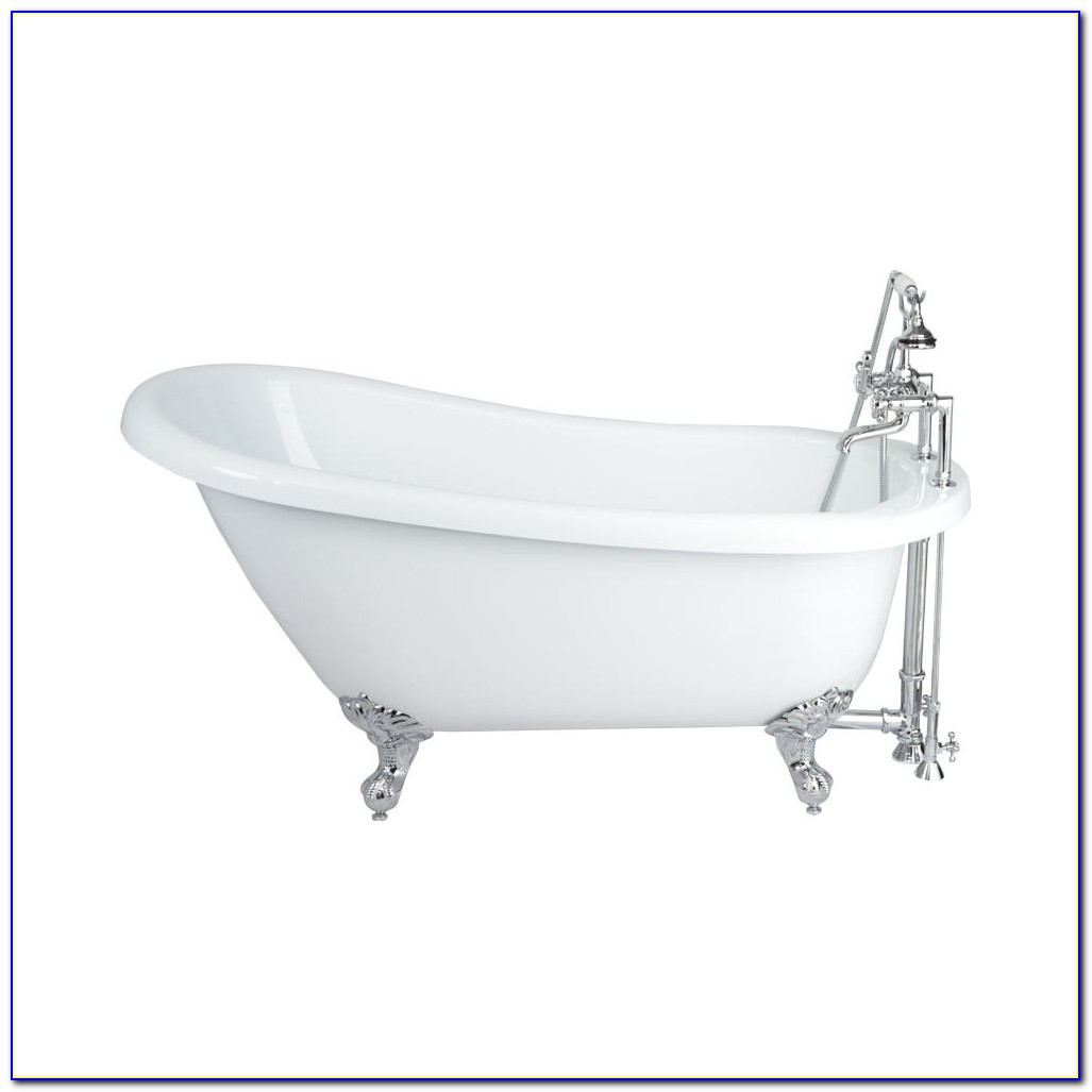 Clawfoot Tub Faucet With Hand Shower