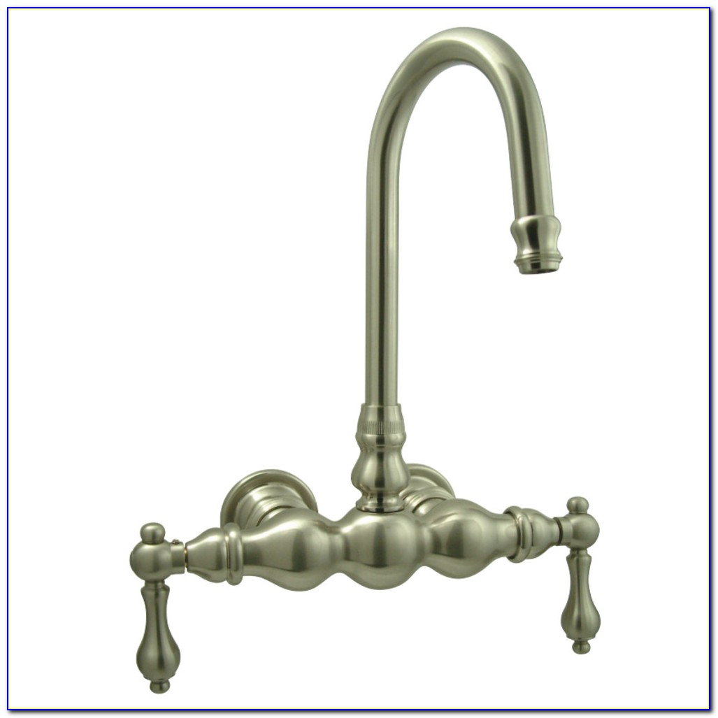 Clawfoot Tub Wall Mount Faucet