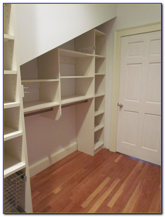 Closets With Angled Ceilings