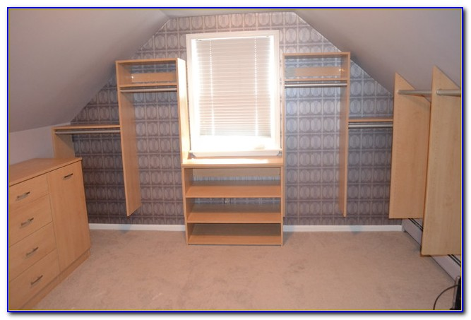 Closets With Vaulted Ceilings