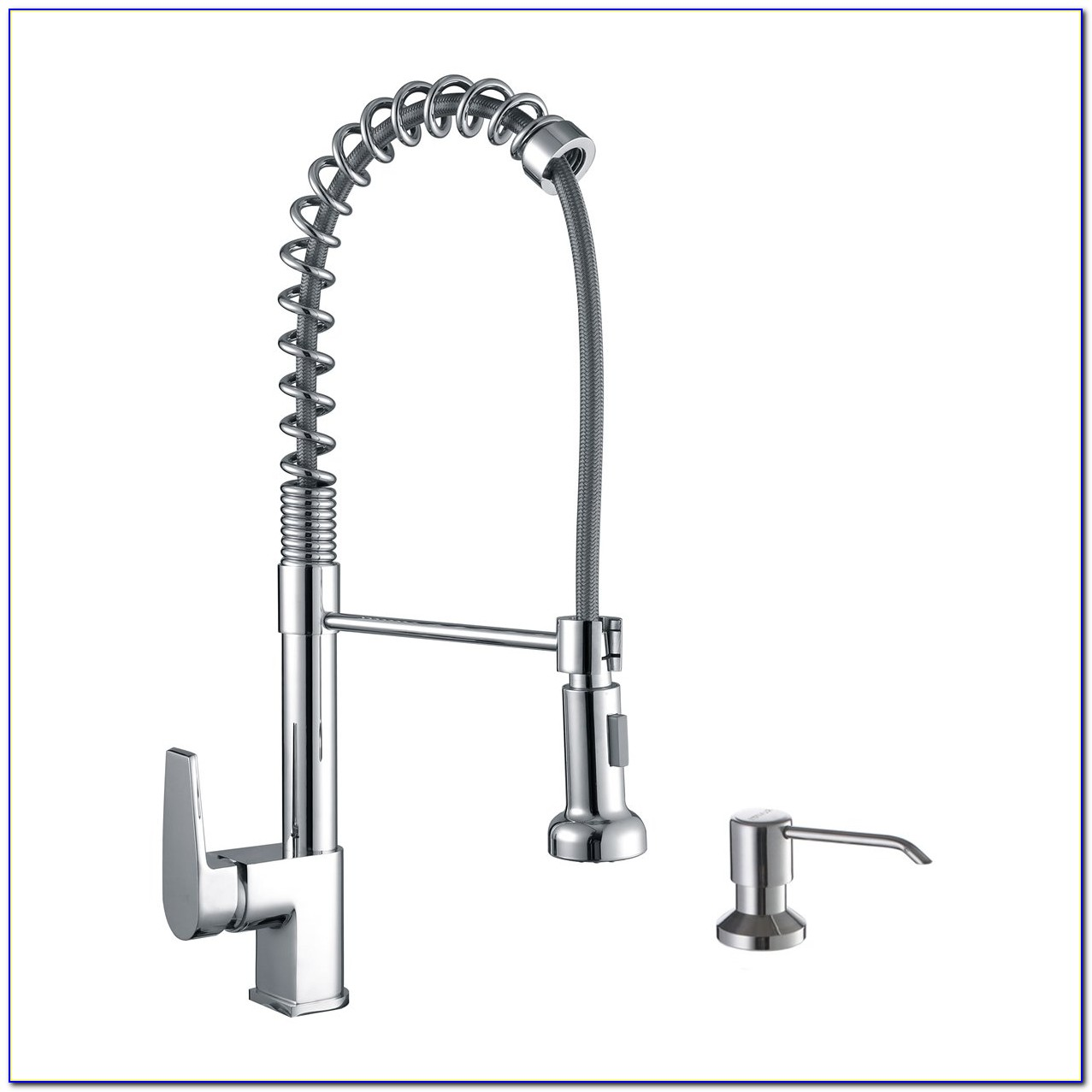 Commercial Kitchen Sink Faucet With Sprayer