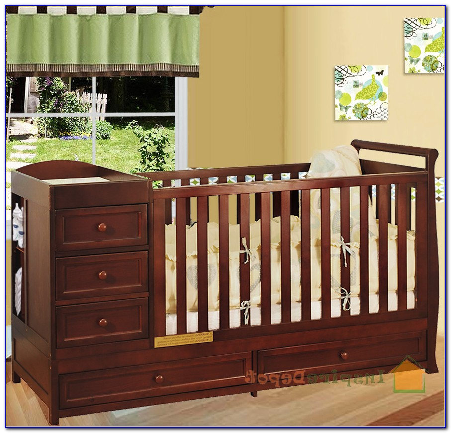 Convertible Crib And Dresser Combo
