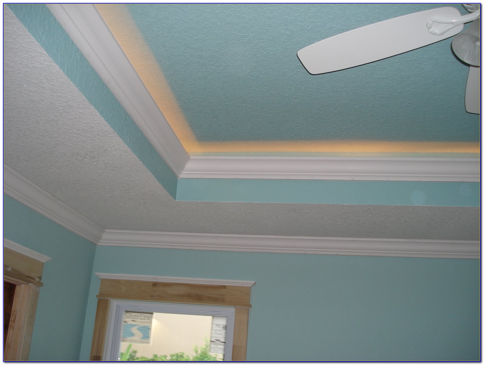 Crown Molding Tray Ceiling Rope Lighting