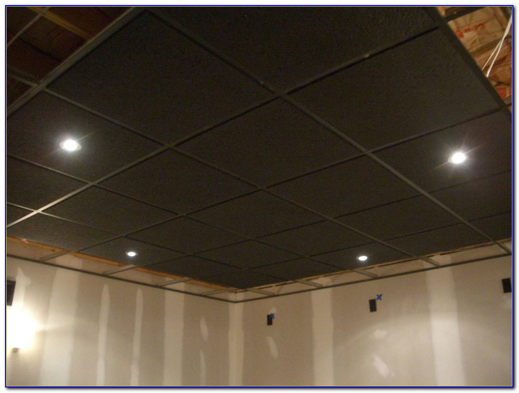 Cutting Recessed Suspended Ceiling Tiles