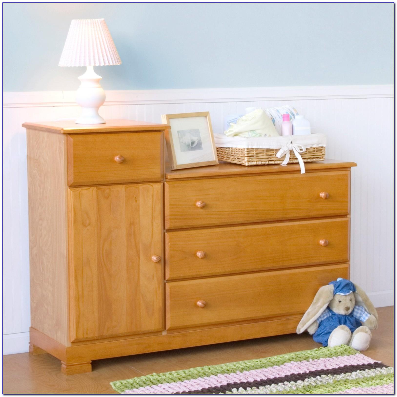 Davinci Kalani Combo Dresser Honey Oak