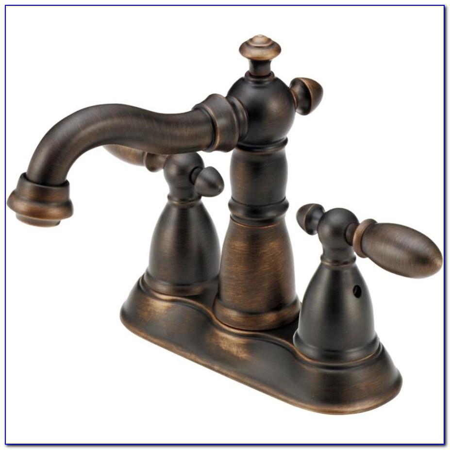 Delta Bronze Bathroom Faucet