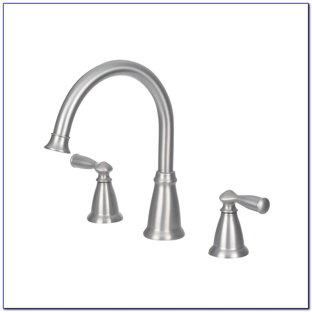 Delta Brushed Nickel Roman Tub Faucet