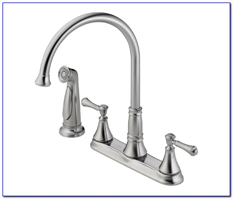 Delta Cassidy Bathroom Faucet Brushed Nickel