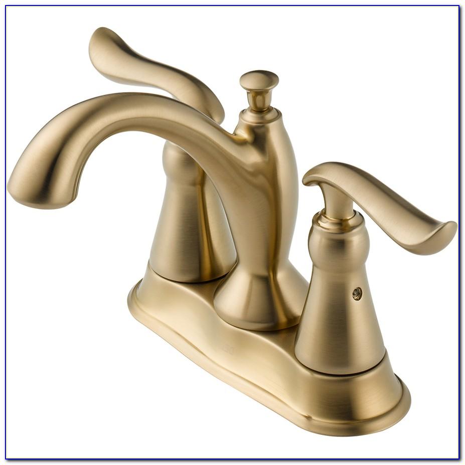Delta Cassidy Champagne Bronze Kitchen Faucet
