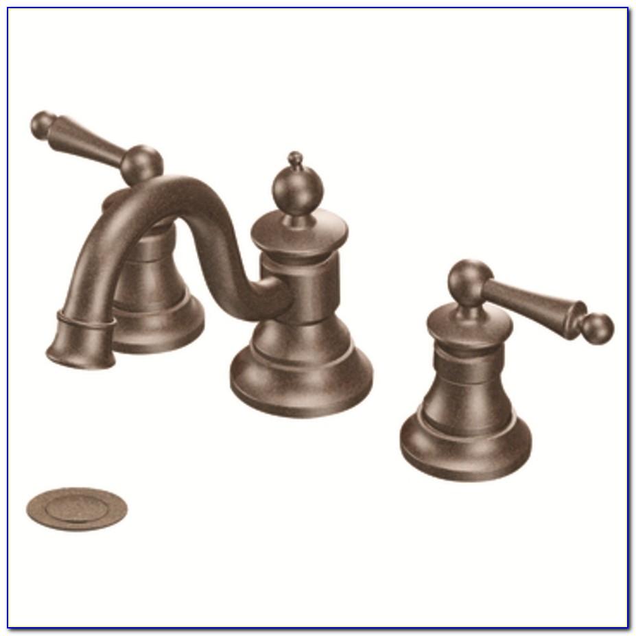 Delta Flynn Oil Rubbed Bronze 2 Handle Widespread Bathroom Faucet